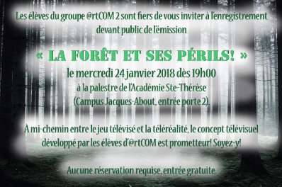 Invitation du groupe @rtCOM2
